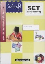 Schrift Schrijfvoorwaarden 3 (set 5 ex)