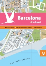Dominicus stad-in-kaart: Barcelona in kaart