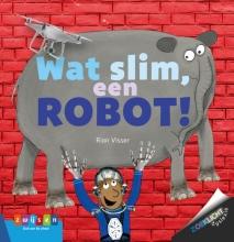 Rian Visser , Wat slim, een robot!