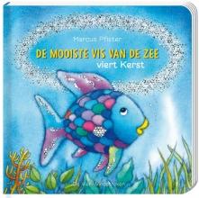 Marcus Pfister , De mooiste vis van de zee viert Kerst