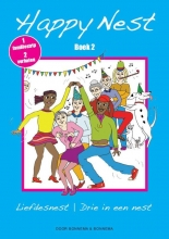 Lida  Bonnema, Wim  Bonnema Happy Nest liefdesnest; Drie in een nest