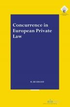 Ruben de Graaff , Concurrence in European Private Law