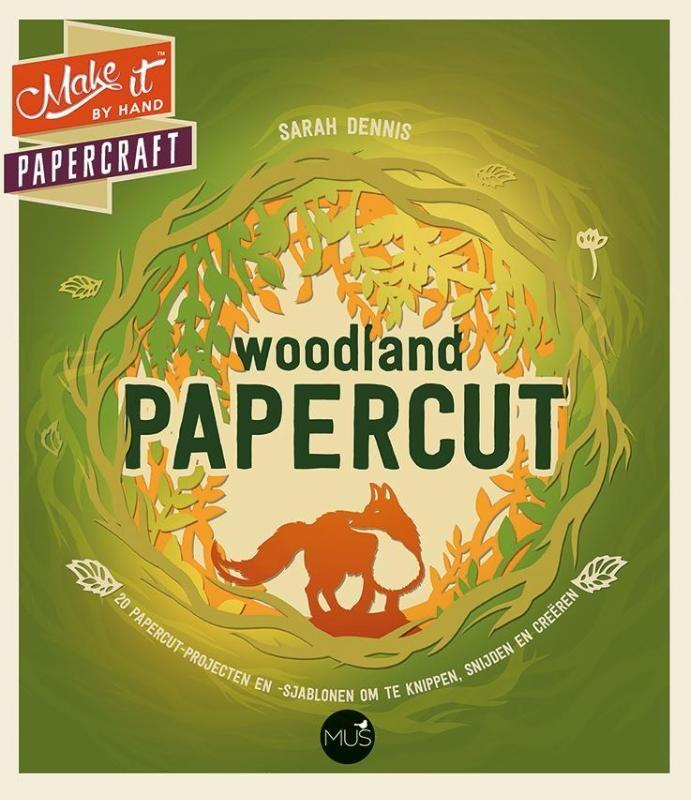 Sarah Dennis,Woodland papercut