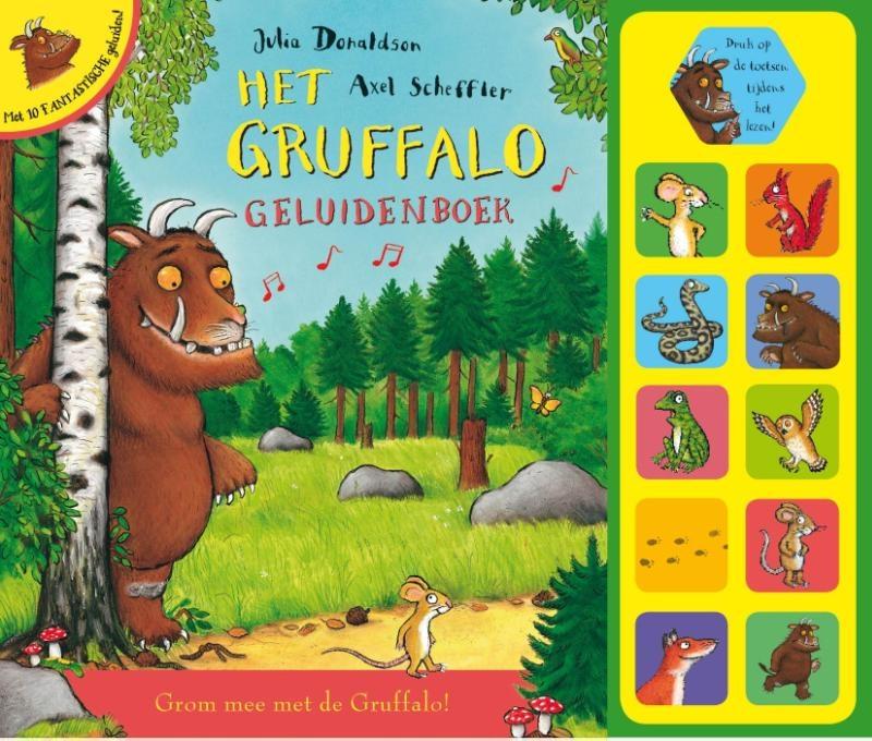 Julia  Donaldson,Het Gruffalo geluidenboek