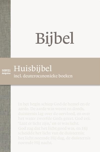 NBG,Bijbel NBV21 Huisbijbel met DC