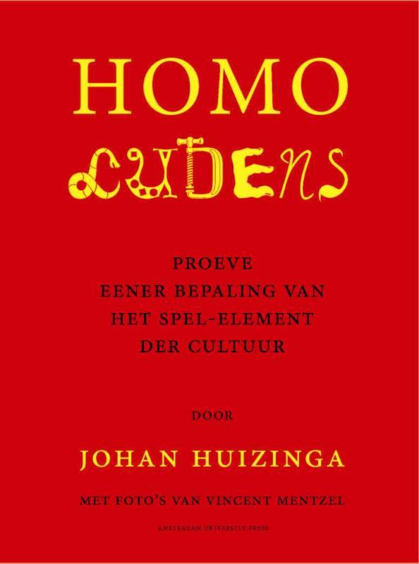 Johan Huizinga,Homo Ludens