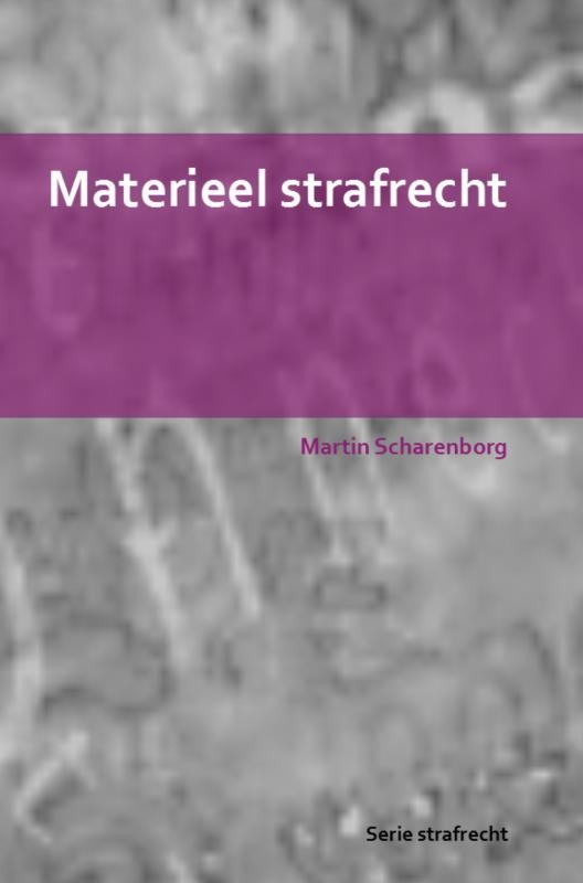 Martin Scharenborg,Materieel strafrecht