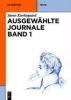 Kierkegaard, Søren,Ausgewählte Journale Band 1