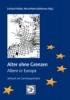 Alter ohne Grenzen? - Altern in Europa,Gerontopsychiatrisches Symposium 2001
