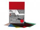 ,schutbladen ProfiOffice A4 200 micron 100 stuks transparant rood