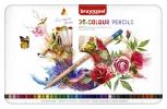 ,<b>Kleurpotloden Bruynzeel Expression colour blik à 36 stuks assorti</b>