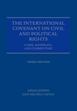 Sarah Joseph,   Melissa Castan The International Covenant on Civil and Political Rights