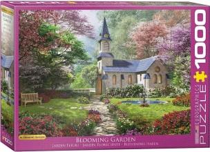 Eur-6000-0964 , Puzzel blooming garden - dominic davison- 1000 stuks
