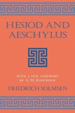 Solmsen, Friedrich Hesiod and Aeschylus