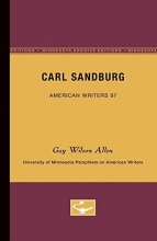 Allen, Gay Wilson Carl Sandburg
