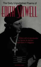 Dame Edith Sitwell The Early Unpublished Poems of Edith Sitwell