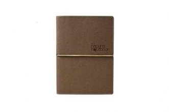 Ciak Natural Coffee Leather Journal