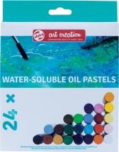 9029124m , Talens art creation wateroplosbare oliepastels 24 stuks