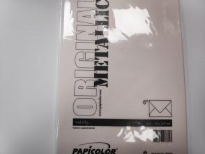 , Envelop Papicolor EA5 156x220mm metallic ivoor