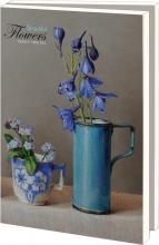 Lmc368 , Notecards 10 stuks 13x18 beautiful flowers ingrid smulling