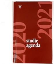 520stu111.ro , Schoolagenda studie 2020-2021 hardcover rood