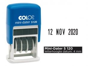 , Datumstempel Colop S120 mini-dater 4mm
