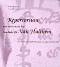 M.E.M. Jungman , Repertorium van teksten in het handschrift-Van Hulthem
