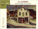 Aa848 , A.J. Casson - Old Store At Salem Puzzel 1000