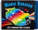 , Monster cars magic scratch boek