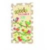 ,<b>Weekkalender 2018 schild papercraft</b>