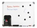 ,<b>Whiteboard 45x60 Desq Met Stiften En Borstel Magnetisch</b>