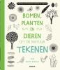 <b>Eloise Renouf</b>,Bomen, planten en dieren uit de natuur tekenen