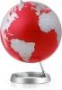 , Globe Wereldbol Atmosphere Vision Red