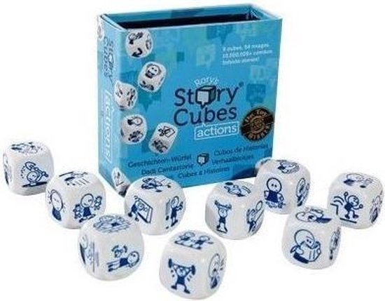 Tch-rsc2tch,Rory`s story cubes - actions