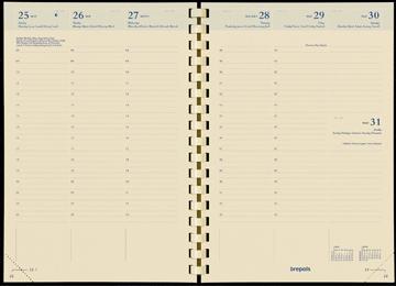 ,Navulling bretime 16 maand spiraal week per 2 pagina verticaal 2020-2021