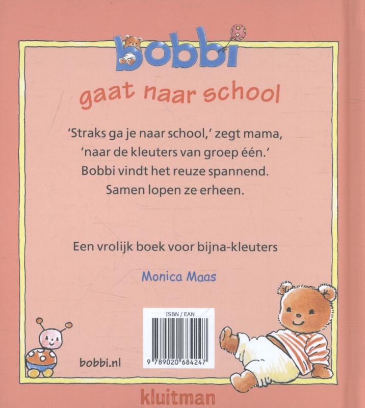 Monica Maas,Bobbi gaat naar school