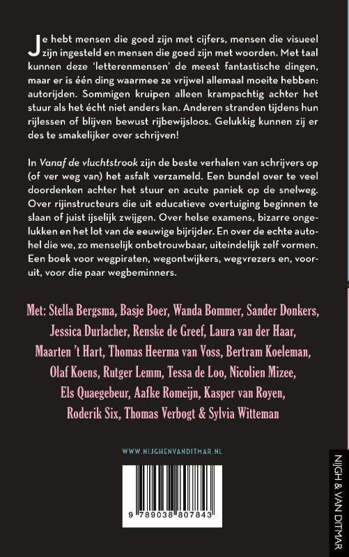 Diverse auteurs,Vanaf de vluchtstrook