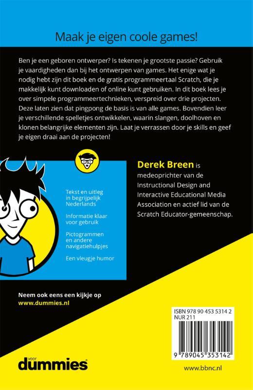 Derek Breen,Games ontwerpen voor kids voor Dummies