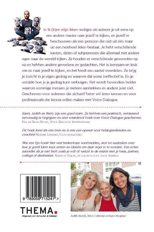 Karin Brugman, Judith Budde, Berry Collewijn,Ik (k)en mijn ikken