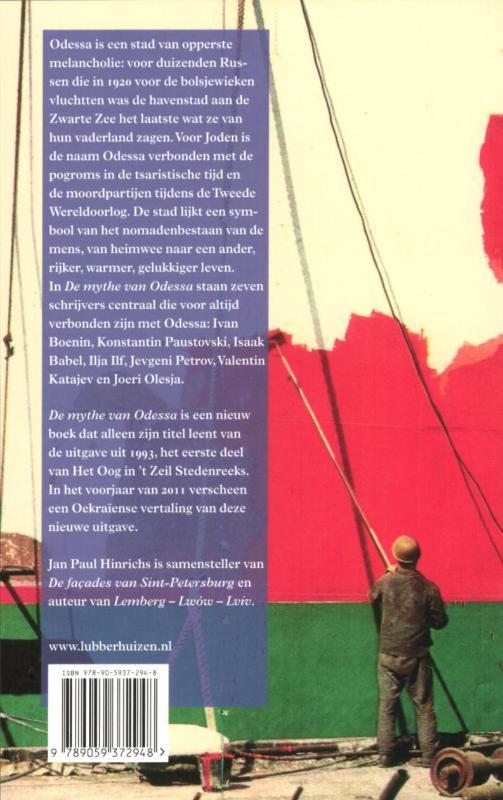 Jan Paul Hinrichs,De mythe van Odessa