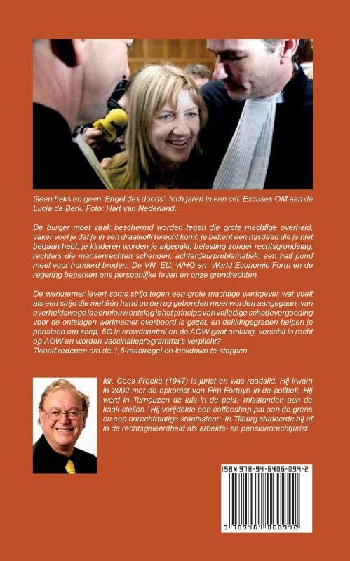 Cees Freeke,Rechtsbescherming tegen de machtige overheid