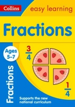 Collins Easy Learning,   Melissa Blackwood Fractions Ages 5-7