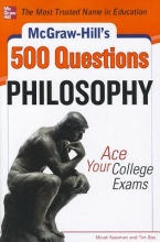 Newman, Micah McGraw-Hill`s 500 Philosophy Questions