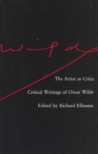 Wilde, The Artist as Critic (Cobe)