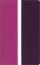 Zondervan Amplified, Holy Bible, Imitation Leather, Pink/Purple, Indexed