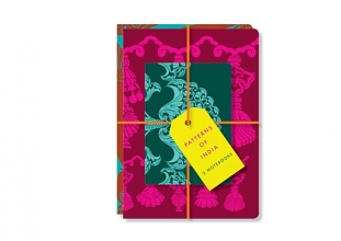 Wilson, Henry Patterns of India: Set of 3 Notebooks