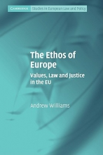 Williams, Andrew The Ethos of Europe