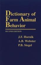 J. F. Hurnik Dictionary of Farm Animal Behavior