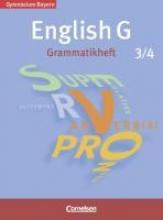 Tröger, Uwe,   Schwarz, Hellmut English G 3/4. 7./8. Jahrgangsstufe. Grammatikheft. Gymnasium Bayern. Neubearbeitung