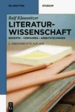 Klausnitzer, Ralf Literaturwissenschaft